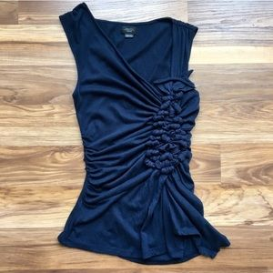 Anthropologie Deletta Knotted Detail Tank